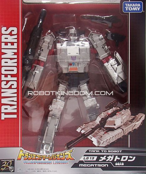 Transformers Legends LG-13 Megatron. Available Now!