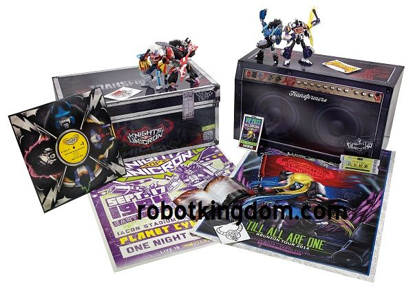 SDCC 2014 Exclusive Transformers Knights of Unicron Set.