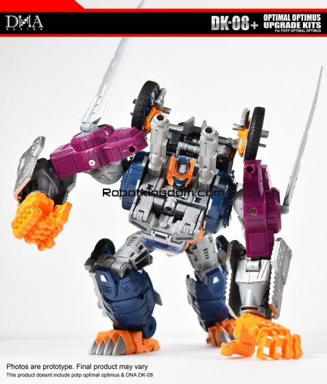 DNA Design DK-08+ POTP OPTIMAL OPTIMUS MOVABLE HAND Upgrade Kit. Available Now!