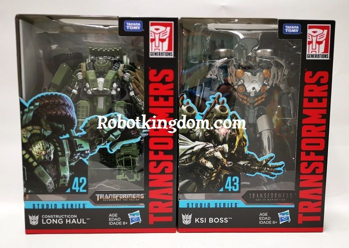 Hasbro Transformers Studio Series VOYAGER Wave 7 set of 2. (KSI BOSS, LONG HAUL ). Available NOW!
