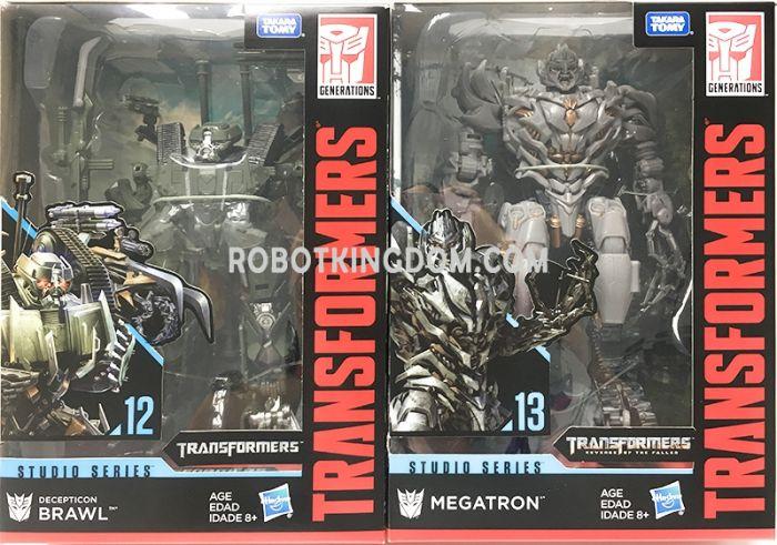 Hasbro Transformers Studio Series VOYAGER Wave 2 set of 2. (Megatron, BRAWL). Restock! Available Now!