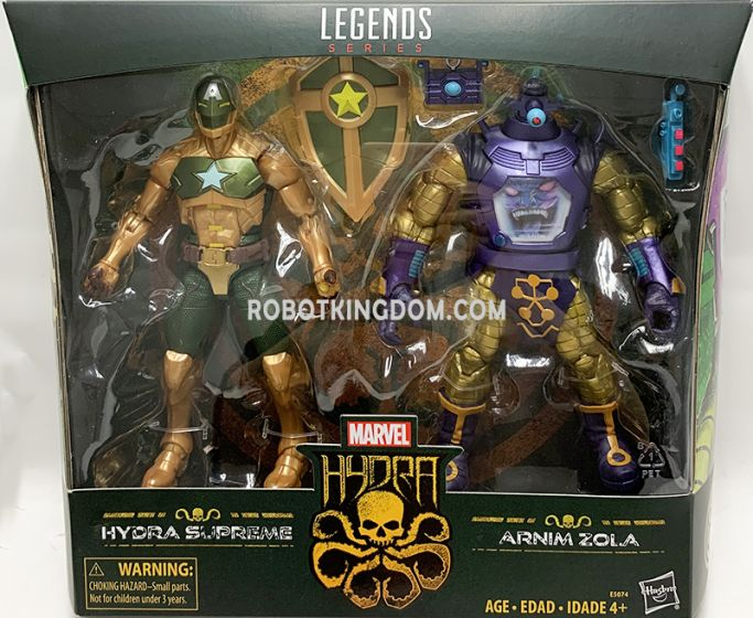 """Marvel Legends 6"""" Hail Hydra 2 Pack. Available Now!"""