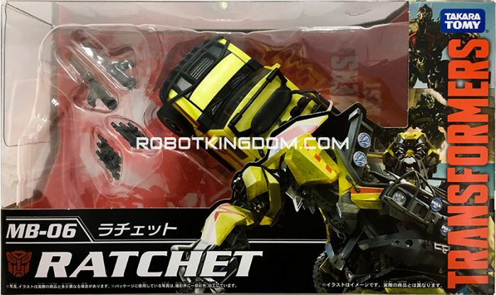 Takara Transformers Movie 10th Anniversary Reissues MB-06 – Ratchet. Available Now!