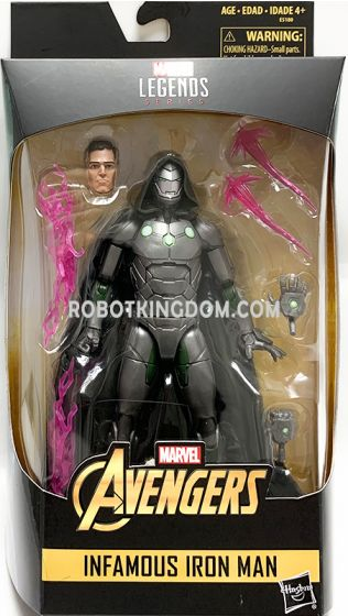 """Exclusives Marvel Legends 6"""" Infamous Iron Man. Available Now!"""