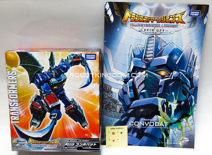 Takara Transformers E-hobby Exclusive Transformers Legends ConvoBat. Last piece!