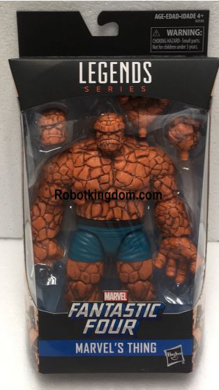 """Hasbro Marvel Legends Exclusive 6"""" Fantastic Four – The Thing. Warehouse Found"""