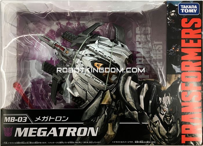 Takara Transformers Movie 10th Anniversary Reissues MB-03 – Megatron. Available Now!
