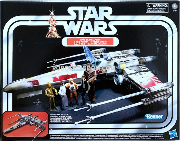 """Star Wars 3.75"""" Vintage Collection Luke Skywalker's X-wing Fighter. Available Now!"""