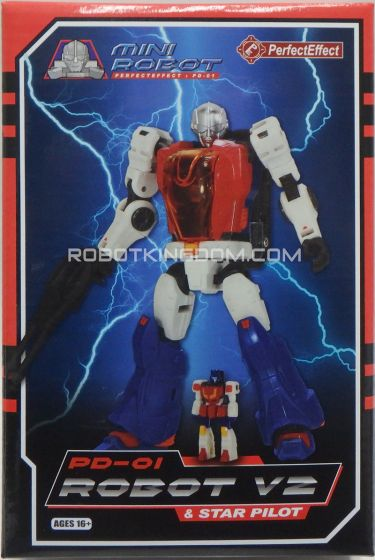 Perfect Effect PE PD-01 ROBOT V2 & STAR PILOT. Available Now!