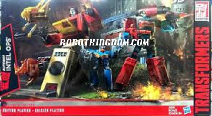 Transformers Platinum Perceptor and Blaster. Available Now!