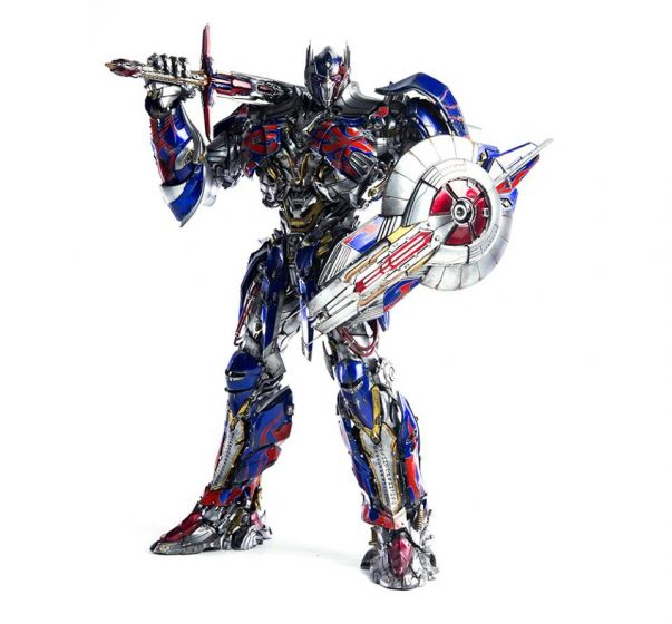 Hasbro x ThreeA : OPTIMUS PRIME Transformers The Last Knight Premium Scale Collectible Series. Available Now!