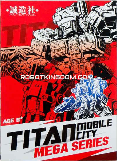 Master Made SDT-01 Titan Mobile City. Available Now!