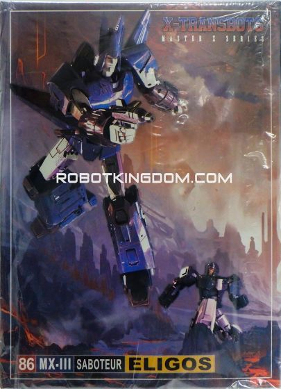 X-Transbots MX-III Eligos. Available Now!