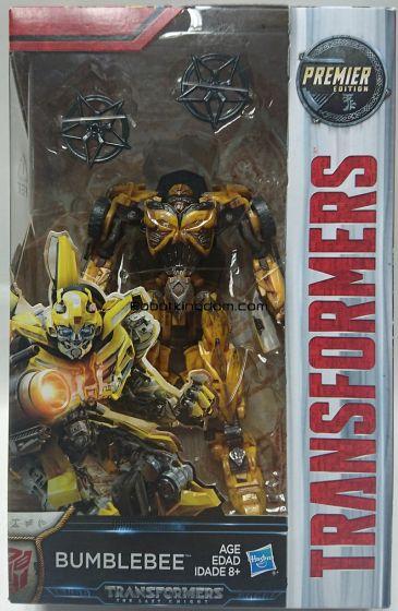 Transformers Movie 5 - The Last Knight Premier Deluxe Battle Damage Bumblebee. Start Shipping Next week!