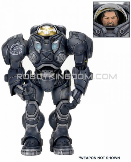 """Neca Heroes of the Storm - 7"""" Scale Action Figure - Series 3  set of 2. (Raynor,Sylvanas )"""
