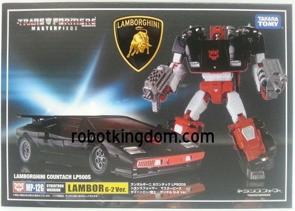 Takara Transformers Masterpiece MP-12G G2 Sideswipe with Exclusive Coin. Available Now!