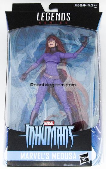 "Walgreens Exclusive  Marvel Legends 6"" Medusa. Available Now! Last few pcs!"