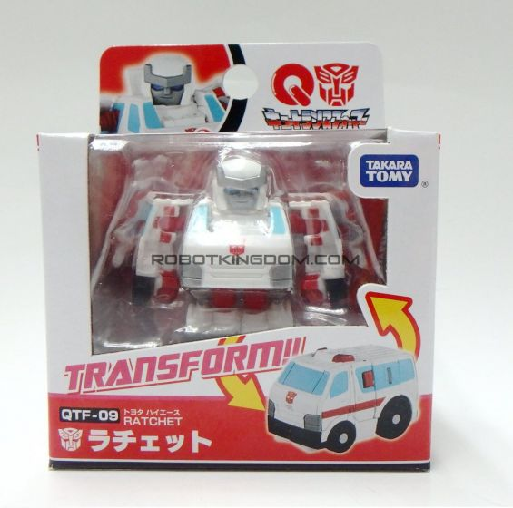 Takara Transformers  QTF-09 Ratchet. Available Now!