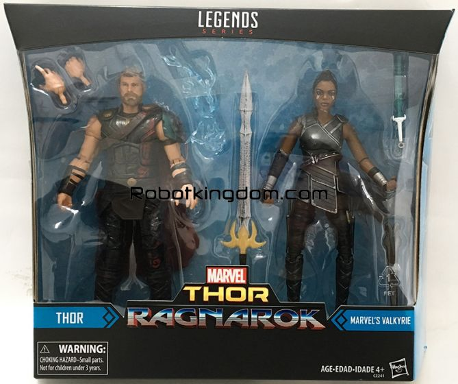 Target Exclusive Marvel Legends Thor 2 Pack Thor and Valkyrie. Available Now!