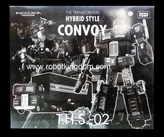 TakaraTomy Transformers T.H.S.-02 THS-02 Hybrid Style Convoy Black Version. Available Now !