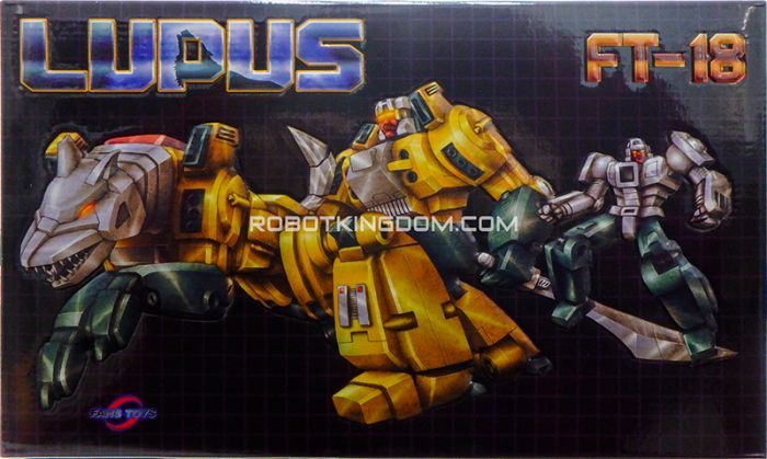 Fans Toys FT-18 Lupus. Available Now!