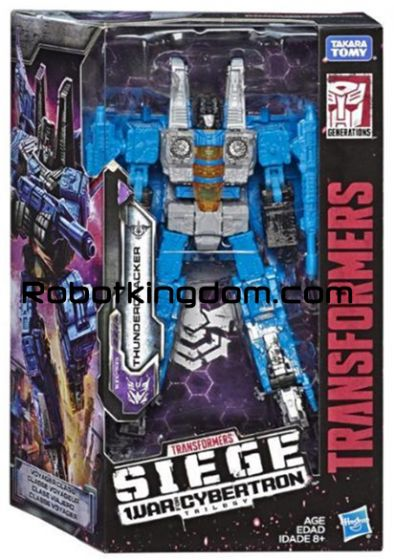 Generations 2019 Siege of cybertron Voyager THUNDERCRAKER. Available Now!