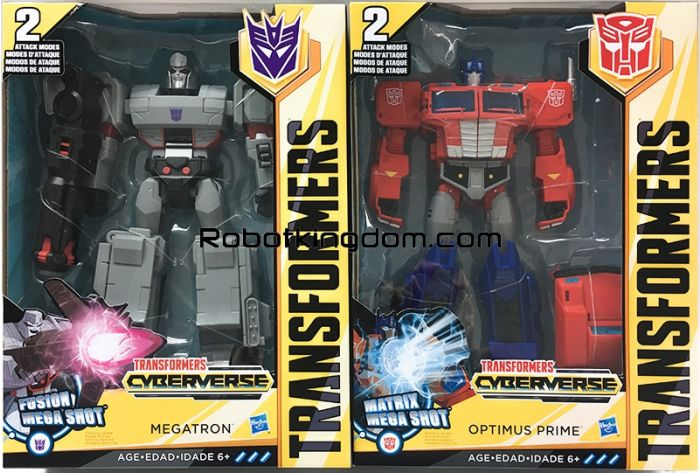 Transformers ACTION ATTACKER 30 set of 2. Available Now!