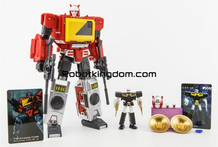 KFC EAVI METAL Phase Four: A Transistor (The Pure Red Ver.). Available Now!