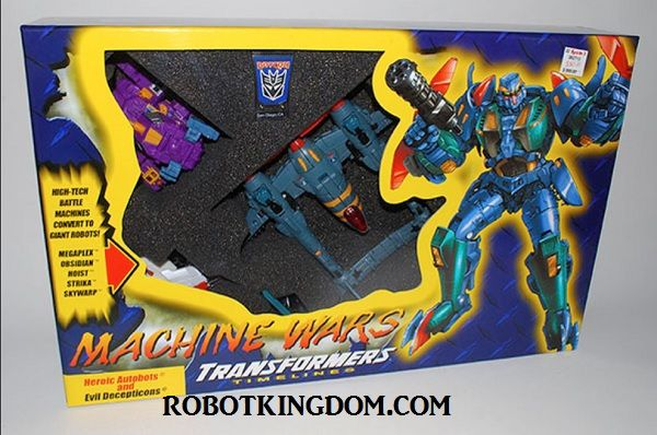 Transformers Botcon 2013 - Machine Wars: Termination Box Set Box