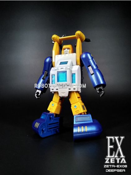Zeta EX08 DEEPSEA(full paint metallic version). Available Now!
