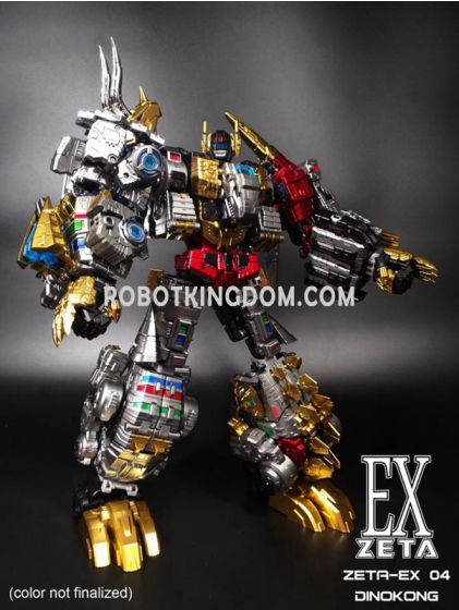 Zeta EX-04 Dinokong. Available Now!