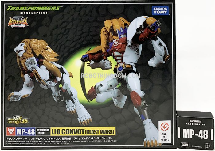 Takara Transformers Masterpiece MP-48 Lio Convoy with Collector Pin. Available Now!
