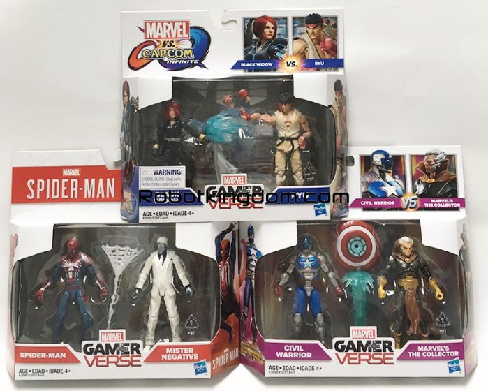 Marvel Legends GAMERVERSE 2 Pack set of 3. Available Now!