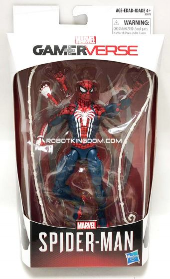 "Exclusive Marvel LEGENDS Spider Man Legends Series 6"" Gamerverse Spider Man. Start Shipping Now!"