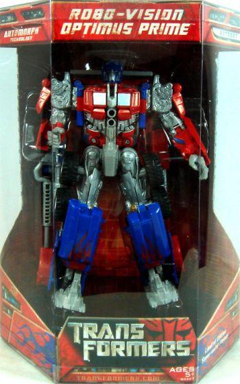Hasbro Transformers Movie Voyager Limited Edition Robo-Vision Optimus Prime US$39.9