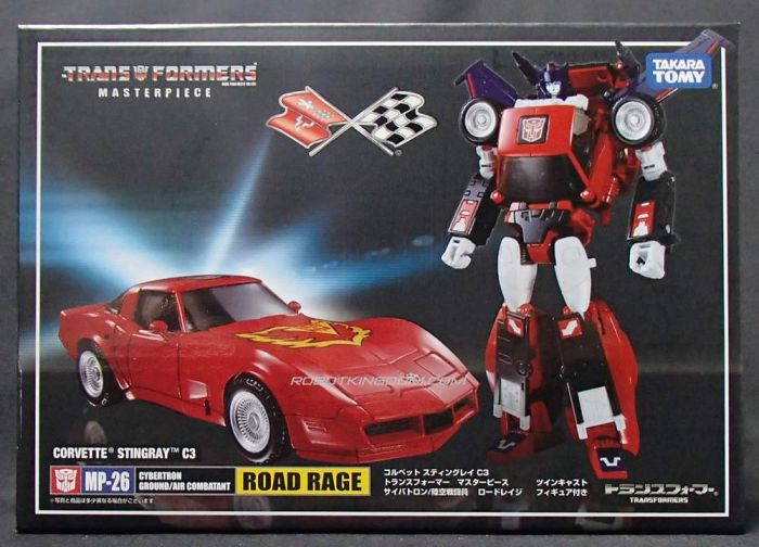 Takara Transformers Masterpiece MP-26 Road Rage with Exclusive Coin. Available Now!