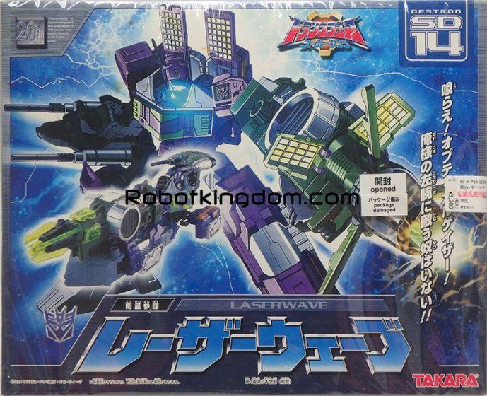 Takara Superlink Destron SD-14 Laserwave. MIB