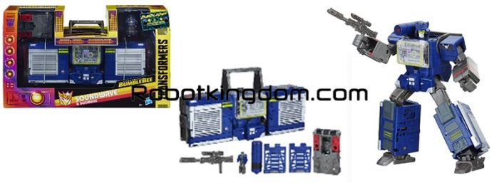 Hasbro Transformers Exclusives Soundwave BOOMBOX FIG. Available Now!