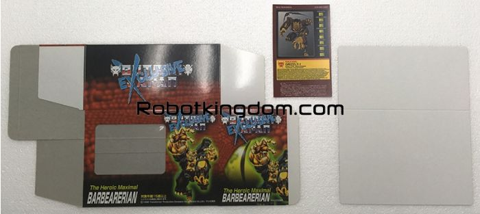 Transformers Botcon Japan Exclusive 1998 - BARBEARERIAN. Available Now!