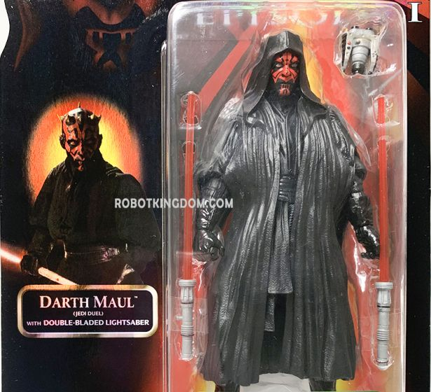 """Star Wars CELEBRATION CONVENTION EXCLUSIVE 6"""" DARTH MAUL. Very Limited Restock!"""