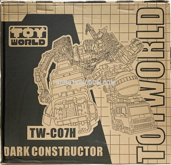 Toy World TW-C07H Dark Constructor. Limited to 200pcs Worldwide. Available Now!