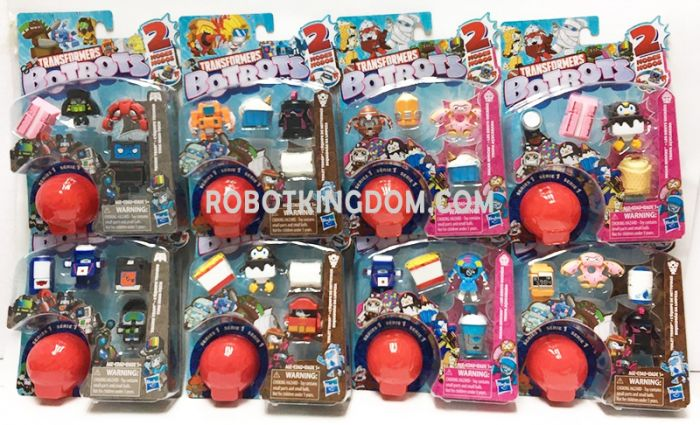 Transformers Bot Bots 5 Pack Case of 8. Available Now!