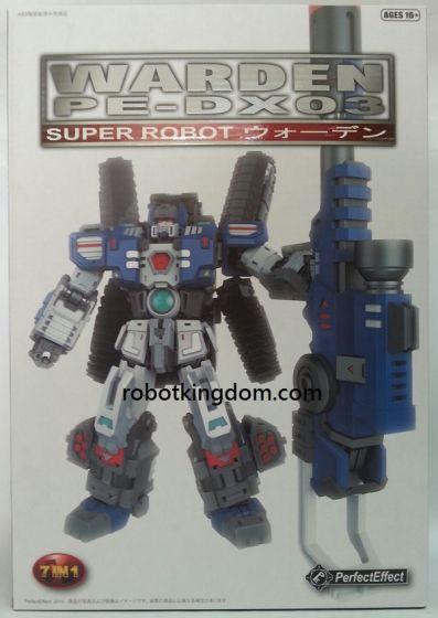 Perfect Effect MOTOBOT PE-DX03 Warden.
