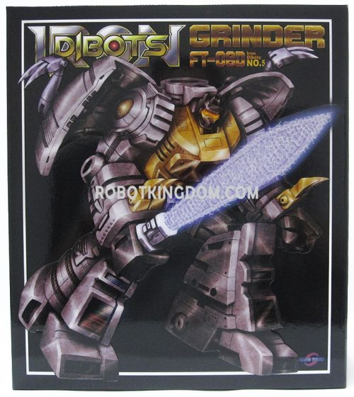 Fans Toys FT-08D Grinder(Diaclone Colors). Available Now!