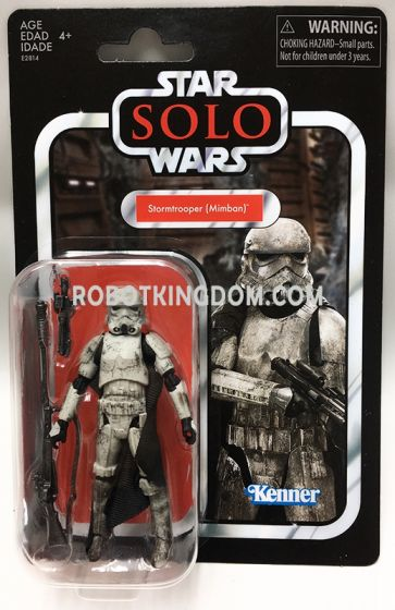 "Exclusive Star Wars VINTAGE 3.75"" MIMBAN TROOPER. Available Now!"