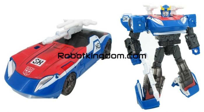 Transformers Generations Select DELUXE SMOKESCREEN. Available Now!