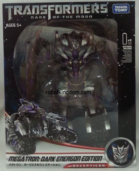 Takara Transformers Asia Exclusive DOTM Dark Energon Edition Megatron.