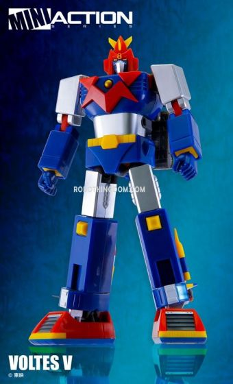 Action Toys Mini Action Series Voltes V. Preorder. Rurun in 3rd Quarter 2020.