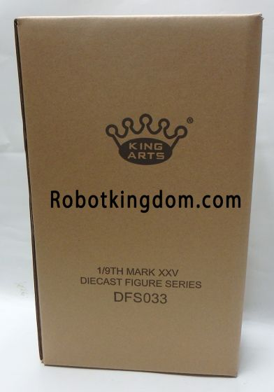 King Arts - 1/9 Diecast Figure Series -DFS033- Iron Man Mark 25 Striker. Available Now!