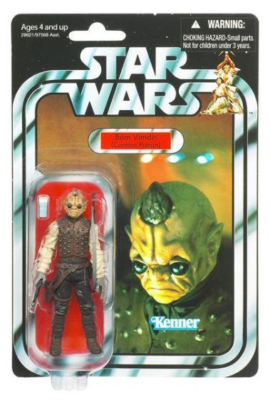 """Hasbro Star Wars 2011 3.75"""" Vintage Figure - VC53 Bom Vindin (Episode IV)."""